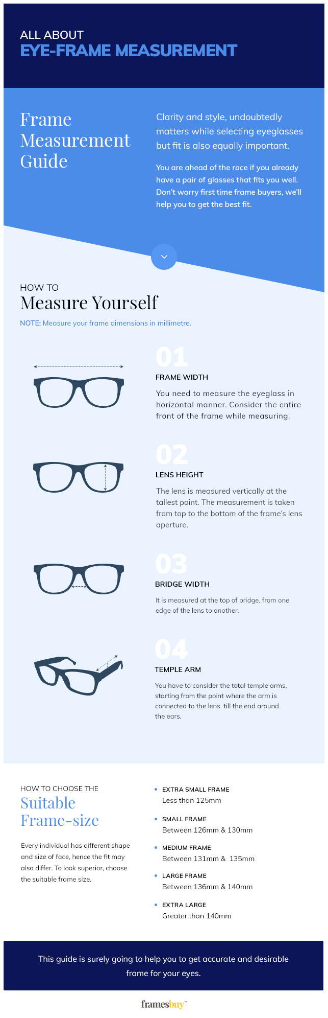 how to measure face for glasses frames
