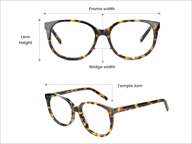 Eyeglass Frame Measurements