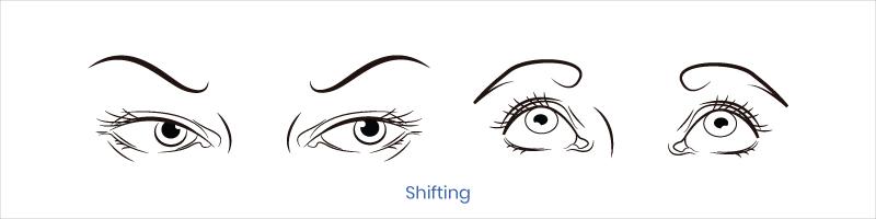 eye exercise shifting