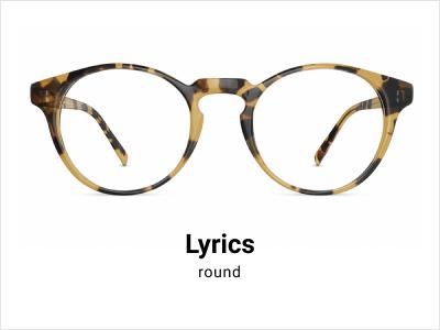 Lyrics - Round tortoise shell glasses
