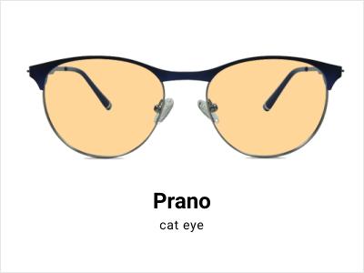 Prano - yellow tinted glasses