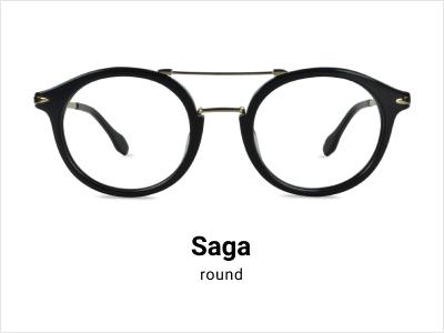 Saga - round glasses