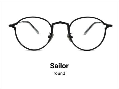 Sailor - Round glasses